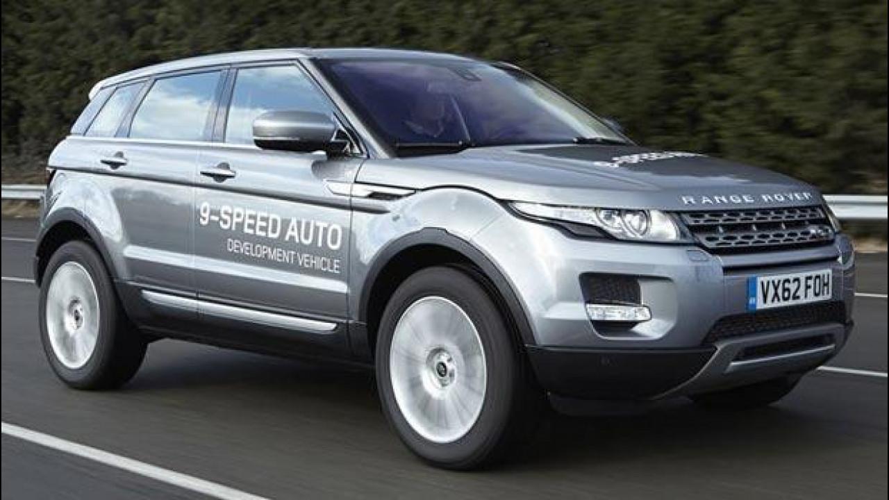 [Copertina] - Un cambio a 9 marce per la Range Rover Evoque