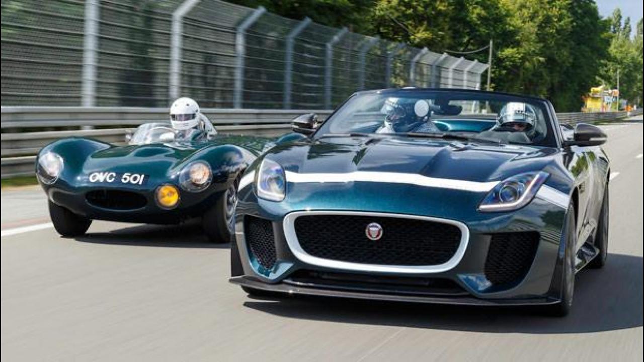 [Copertina] - Jaguar F-TYPE Project 7: debutto a Le Mans
