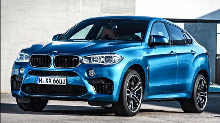 Nuova BMW X6 M, il SUV coupé da 575 CV