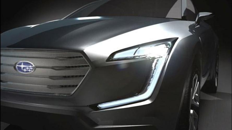 Subaru VIZIV Concept, idea di crossover
