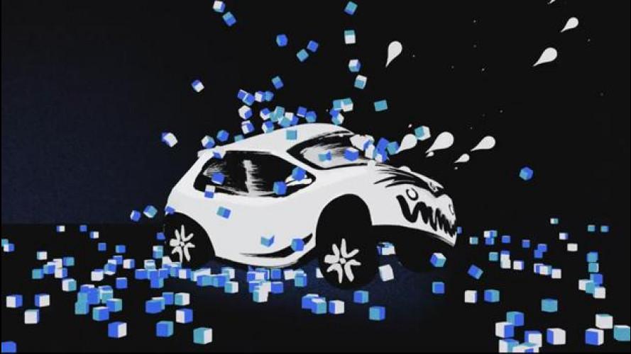 La Renault Twingo risponde all'Ice Bucket della Fiat 500