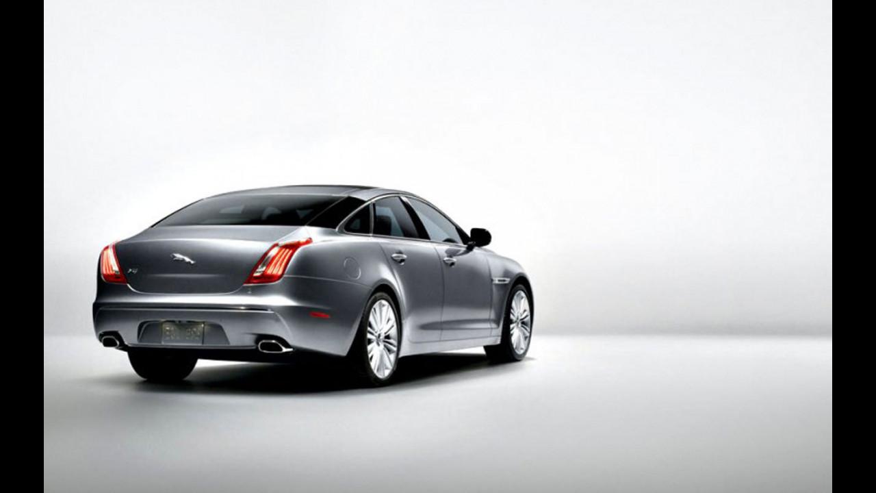 Nuova Jaguar XJ: le prime immagini