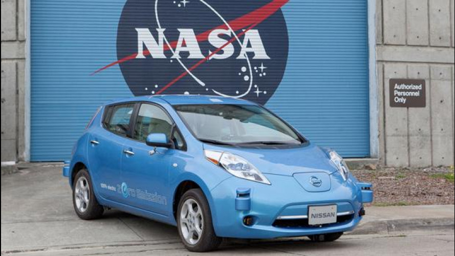 """Le Nissan diventano """"spaziali"""" insieme alla NASA"""