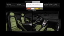 Lamborghini Aventador. Colori interni