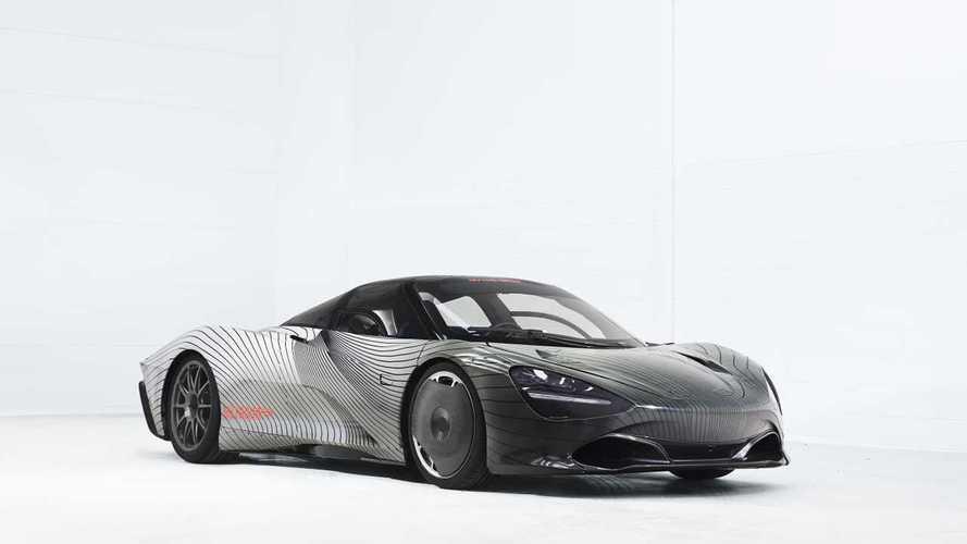 Тестовый McLaren Speedtail получил имя Albert