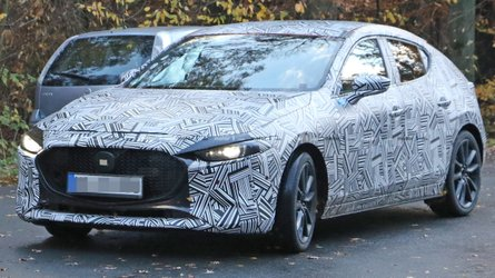 New Mazda3 Spied On The Road Weeks Before Big Debut
