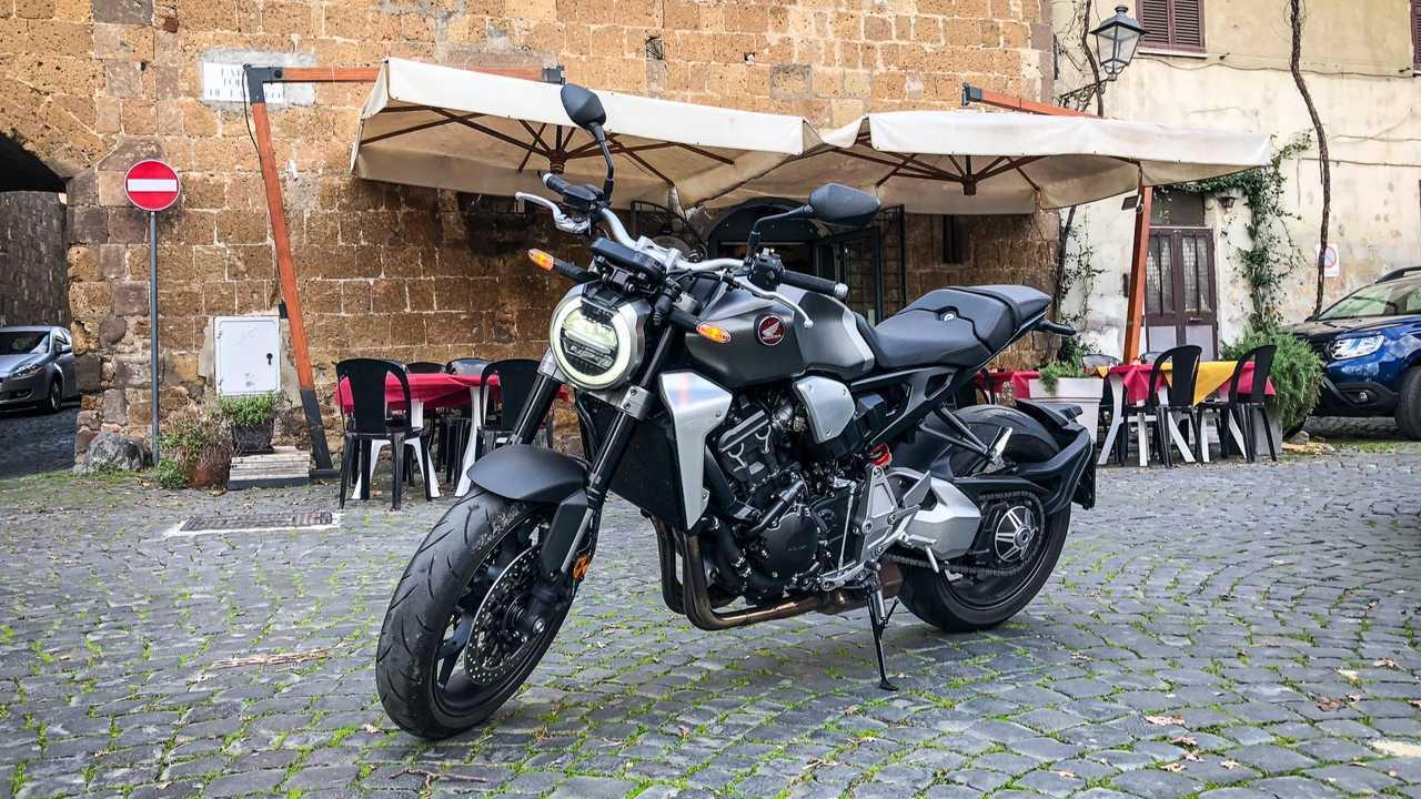 Honda CB1000R 2019 (test ride na Itália)