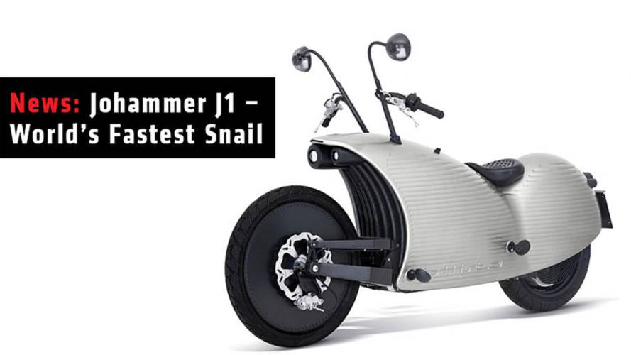 News: Johammer J1 – The World's Fastest Snail