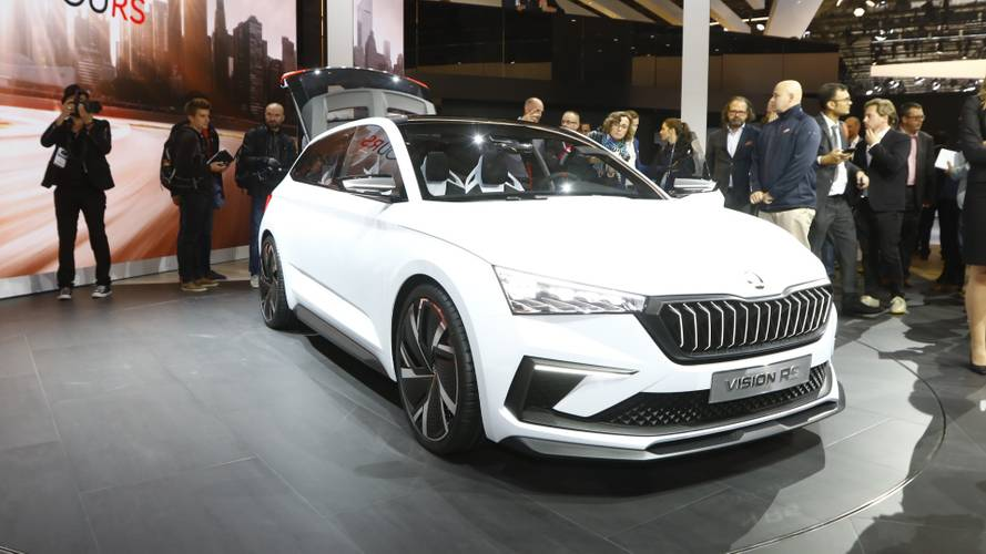 Skoda Vision RS concept at the Paris Motor Show