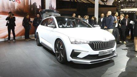 Salão de Paris: Conceito da Skoda adianta futuros híbridos da VW