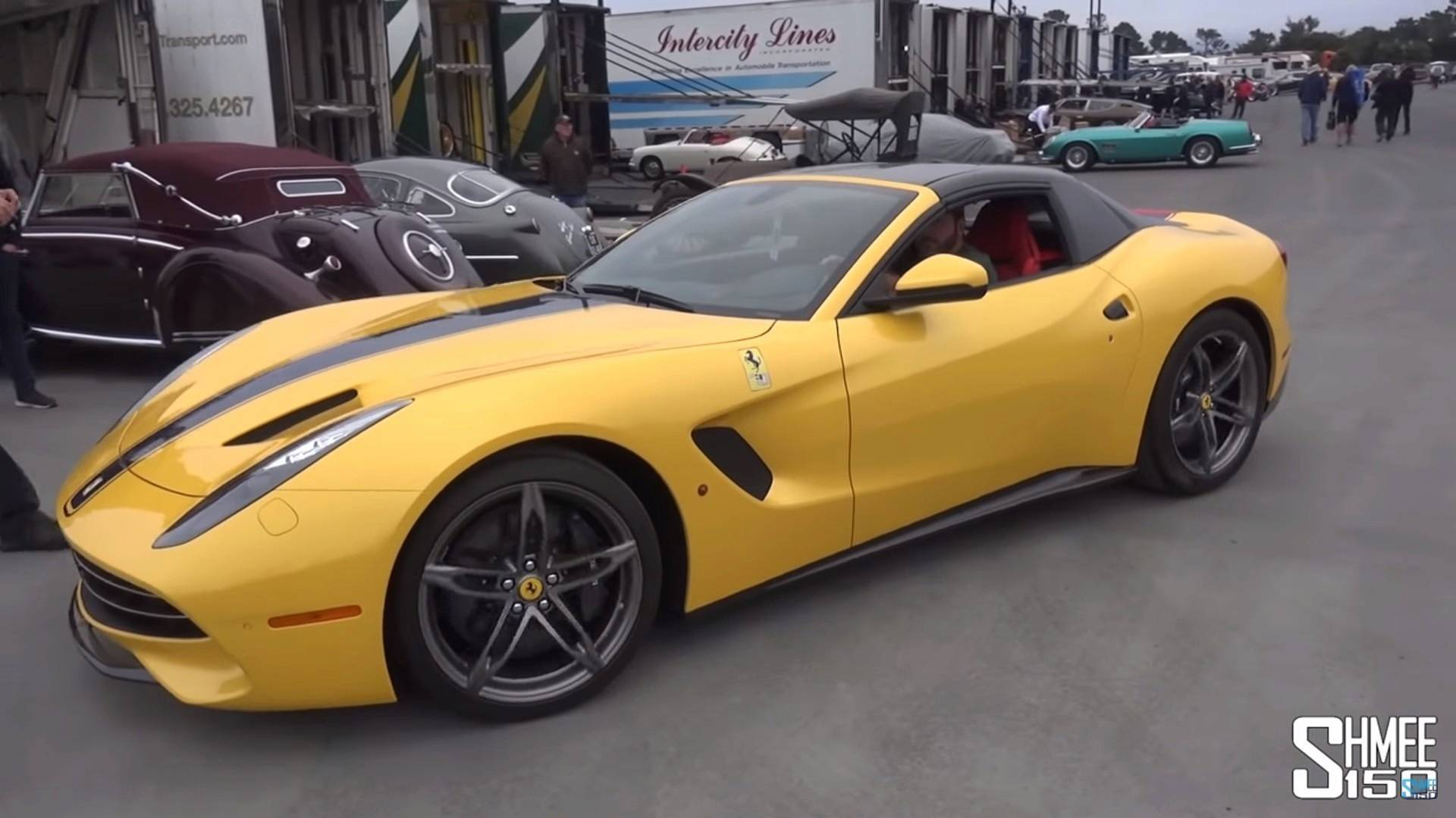 Ferrari 812 Convertible With Folding Hardtop In The Works