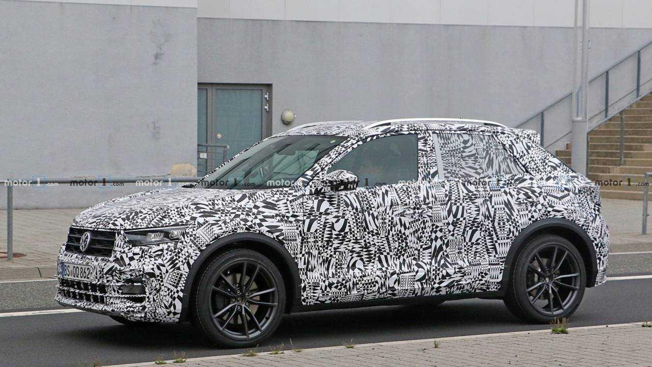 VW T-Roc R 2019 Erlkönig