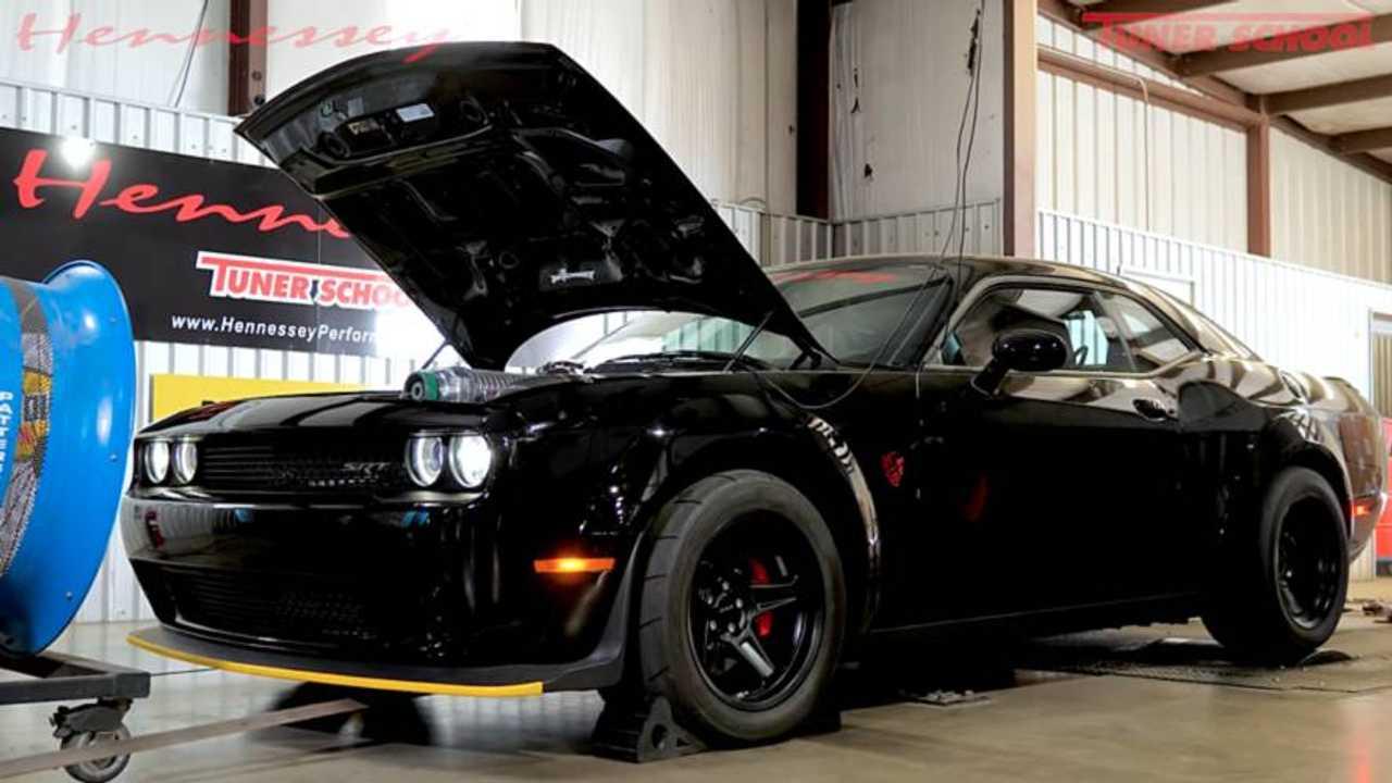 Hennessey Dodge Demon HPE1200 Dyno