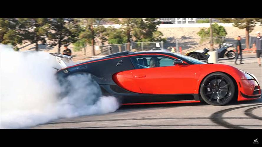 Bugatti Veyron RWD Conversion Looks Easier Than Changing Oil