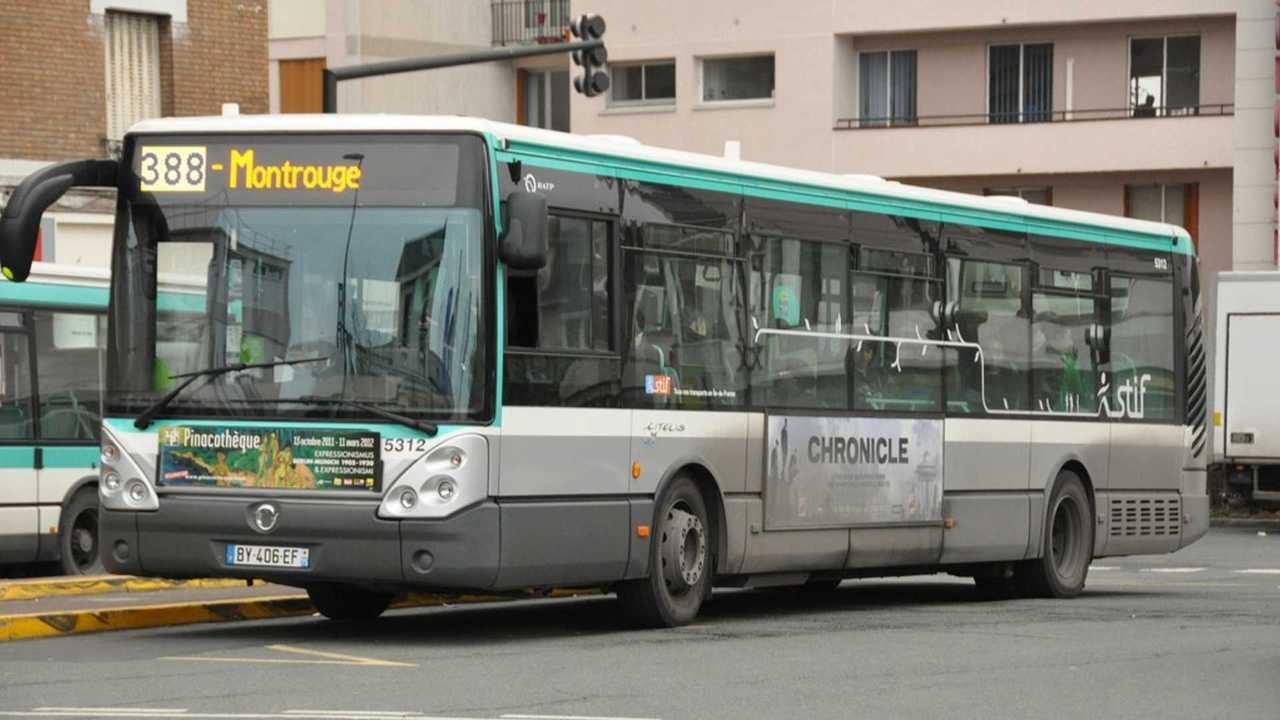 Bus, RATP, Paris