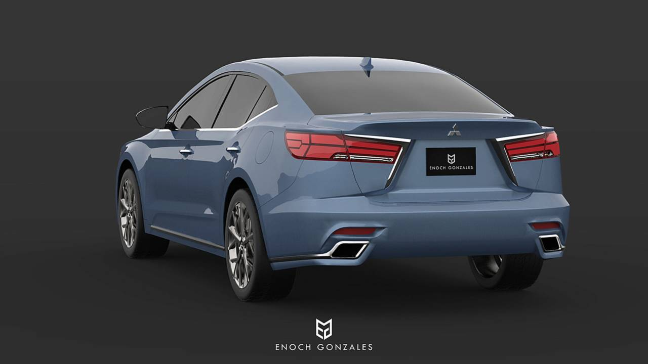 2020 mitsubishi galant is unfortunately only a nice render 2020 mitsubishi galant is unfortunately