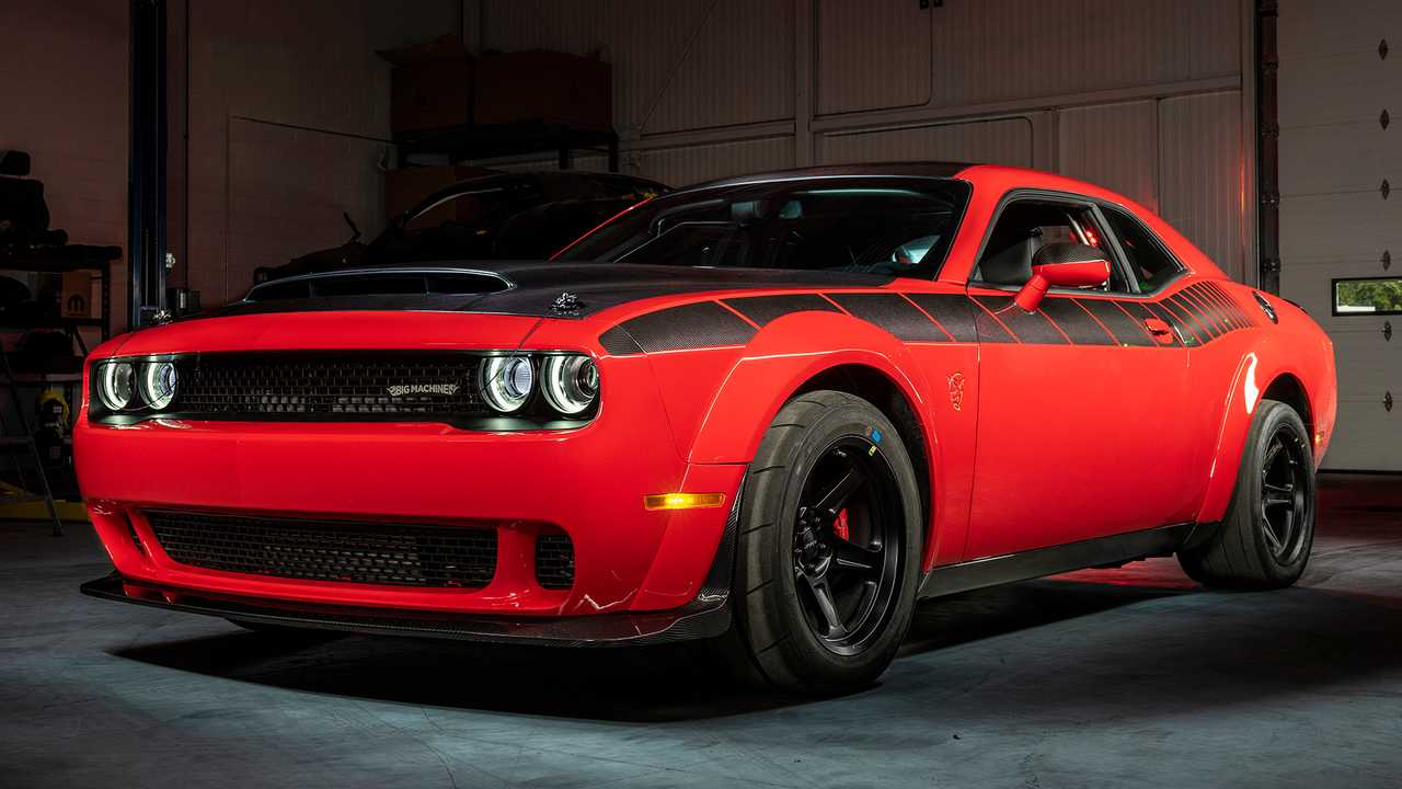 SpeedKore Carbon-Fiber Dodge Demon