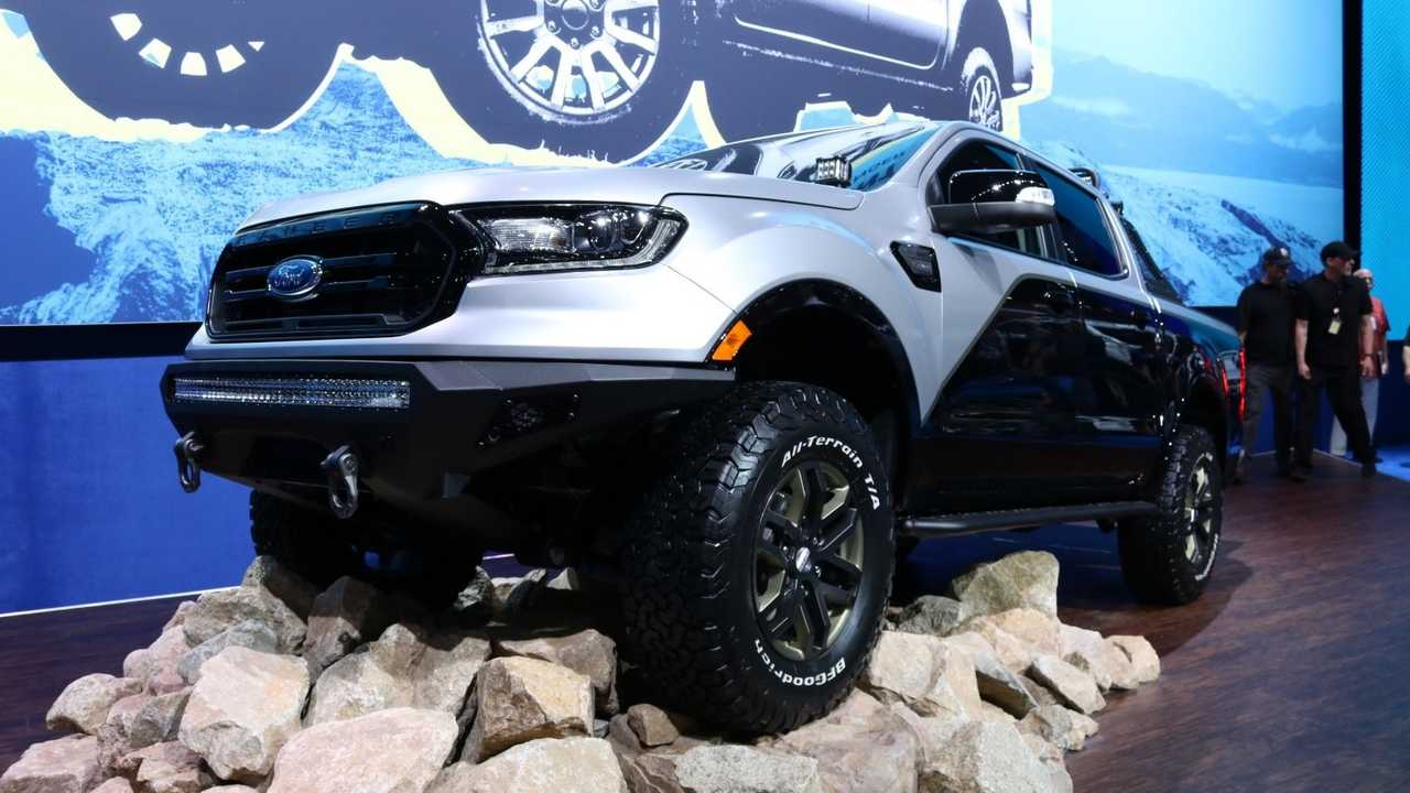 Ford Readies Ranger For SEMA With 7 Rugged Concept Trucks [UPDATE]