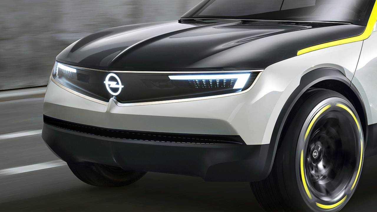 Opel GT X Experimental Grill 2019