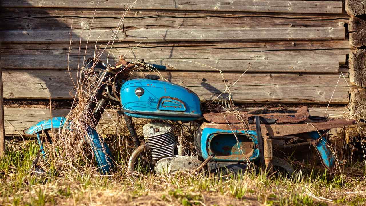 Abandoned Bike Feature