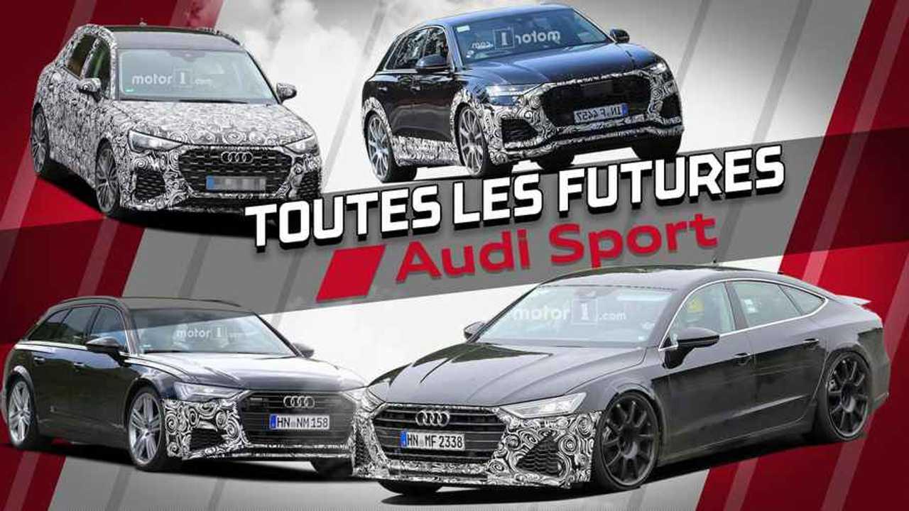 Montage Audi Sport