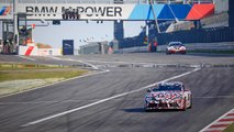 Toyota Supra Race Car Spy Shots