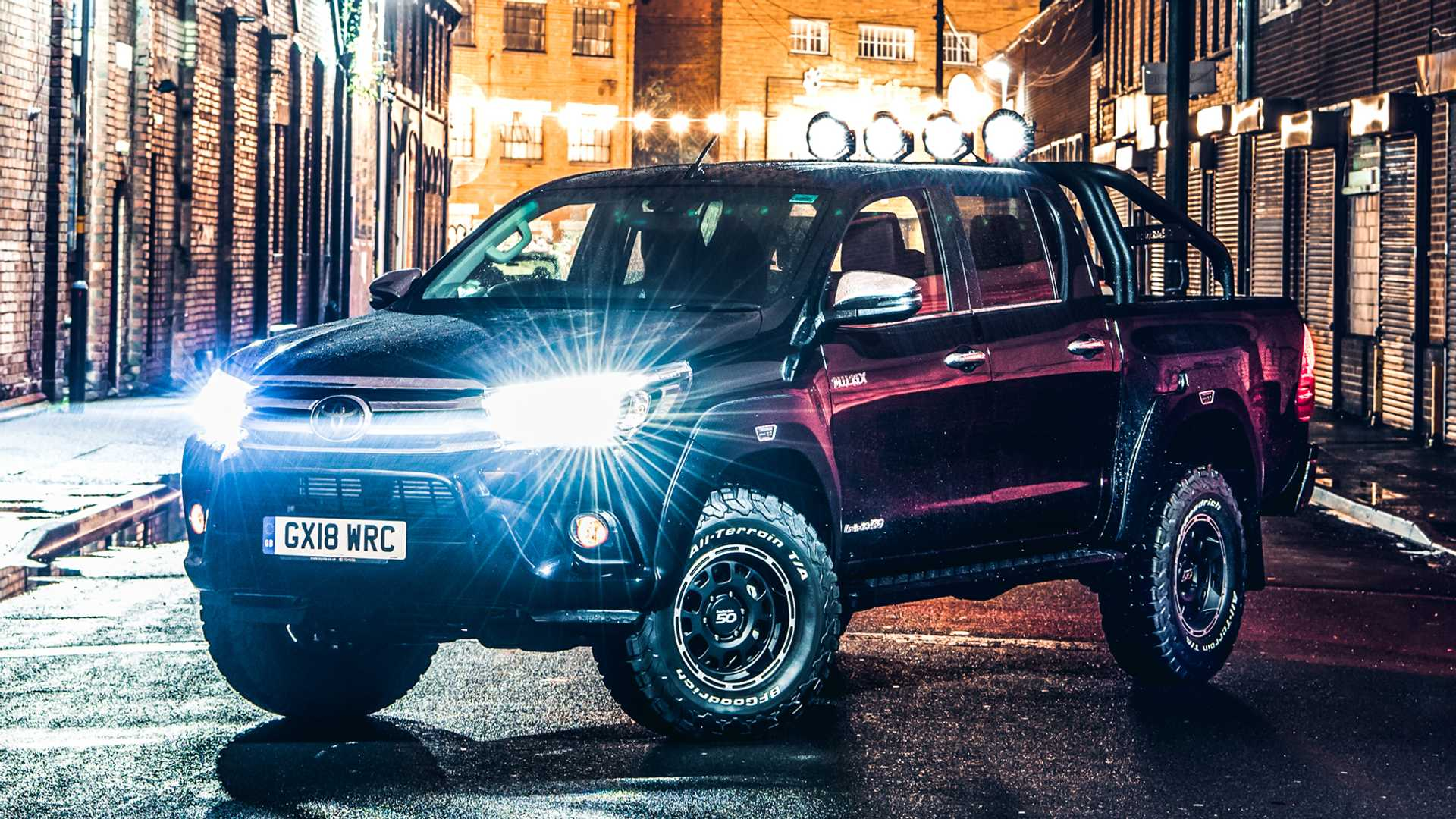 Toyota celebrates Hilux's 50th birthday with new special edition