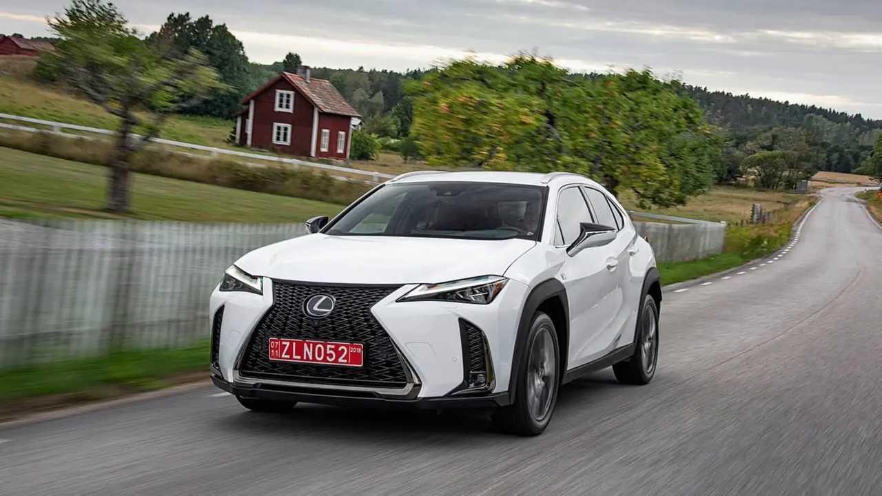 Lexus UX, test drive (Sweden)
