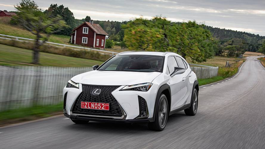 Lexus UX, la prova a Stoccolma