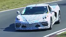 Mid-Engined Chevrolet Corvette Spy Video Screenshots
