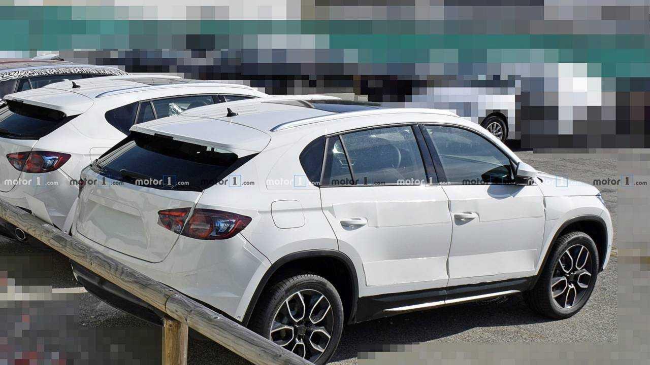 Skoda Kodiaq Coupe spy photo