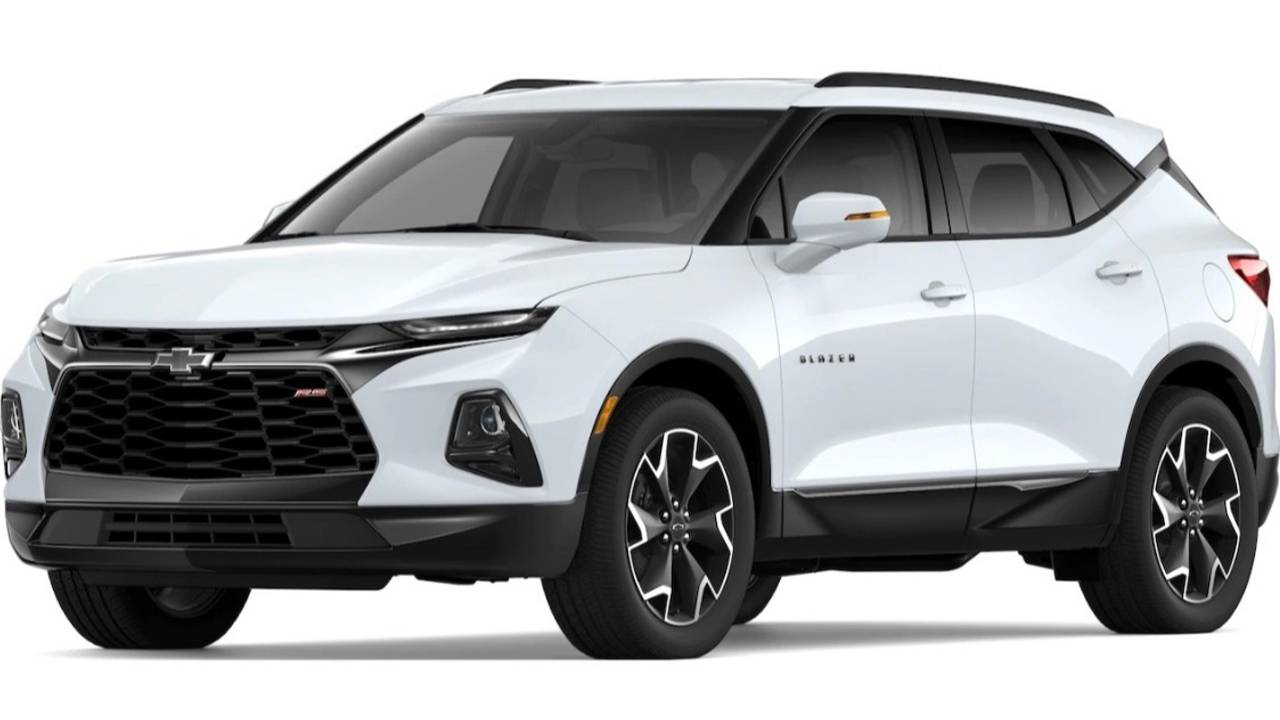 2019 Chevrolet Blazer Colors
