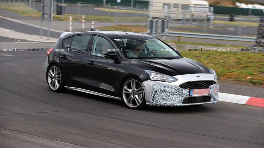 Ford Focus ST Spy Photos