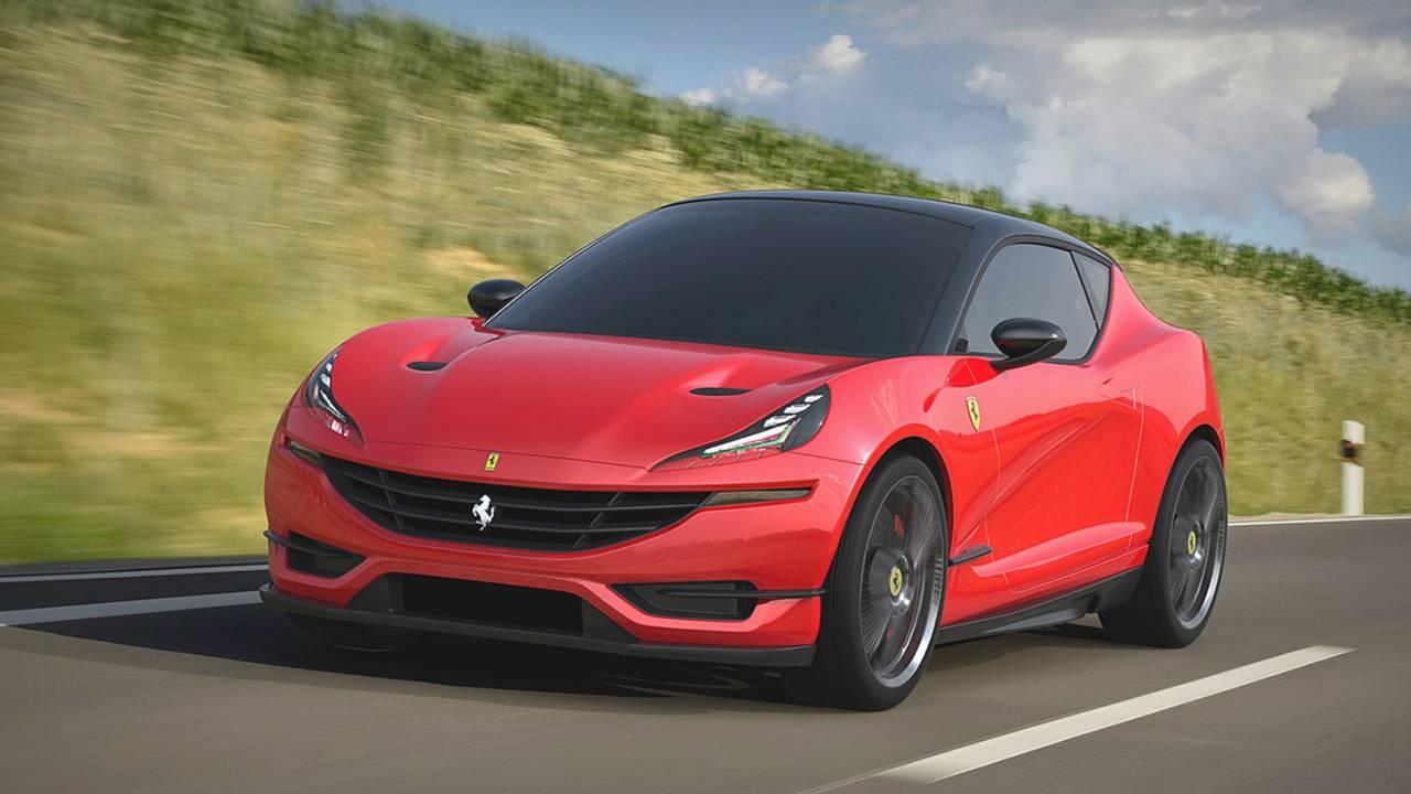 Ferrari Hot Hatchback - Projeção