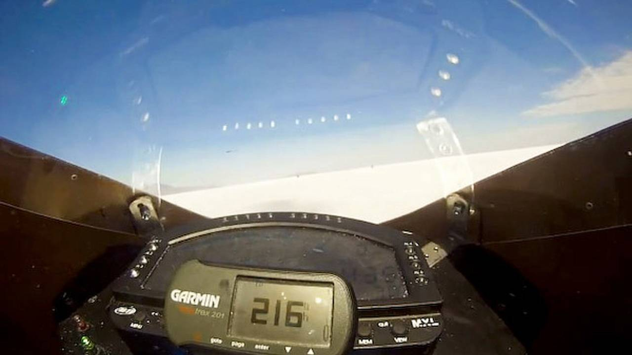 Video: 216mph on an electric motorcycle