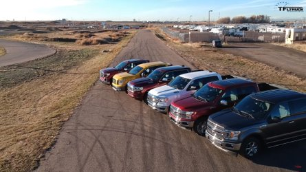 F-150 Battles Ram And Many Others In This Six-Truck Drag Race