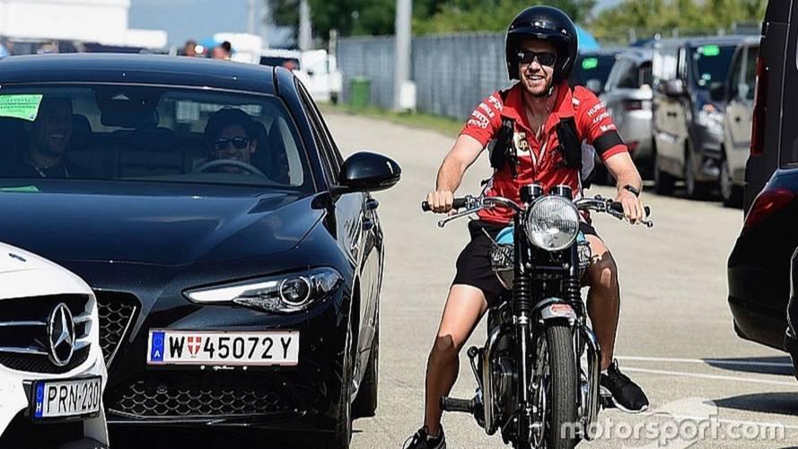Los coches y motos de los pilotos de Fórmula 1 en Hungría