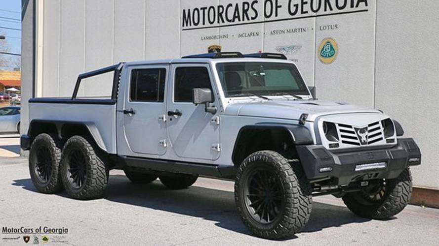 Bonkers 6x6, Hemi-Powered Jeep Wrangler Can Be Yours For $270k