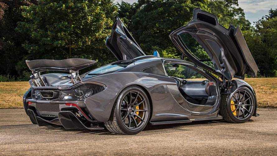 Eladóvá vált Jenson Button különleges McLaren P1 modellje