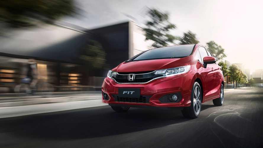 Honda lança Fit 2019 com luz diurna de série e nova opção de cor