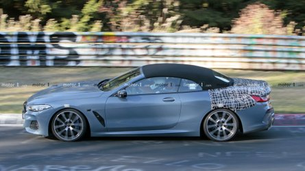 BMW 8 Series Cabrio Looks Ready For Production In New Spy Photos