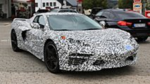 Mid-Engine Corvette Spy Photo