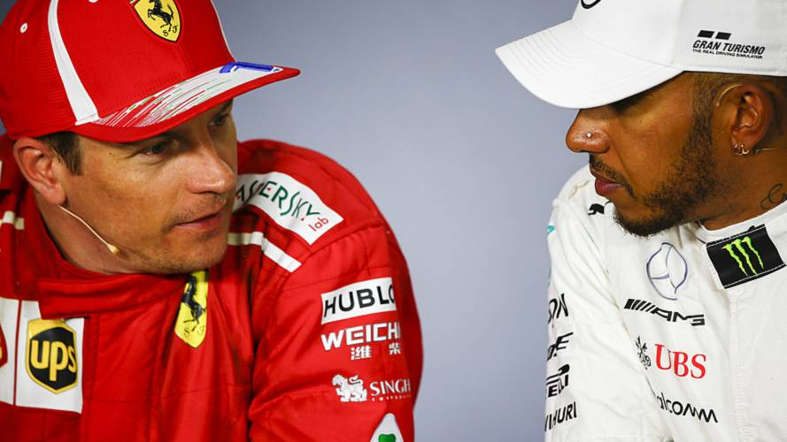 Hamilton says F1 would miss Raikkonen as Ferrari exit looms