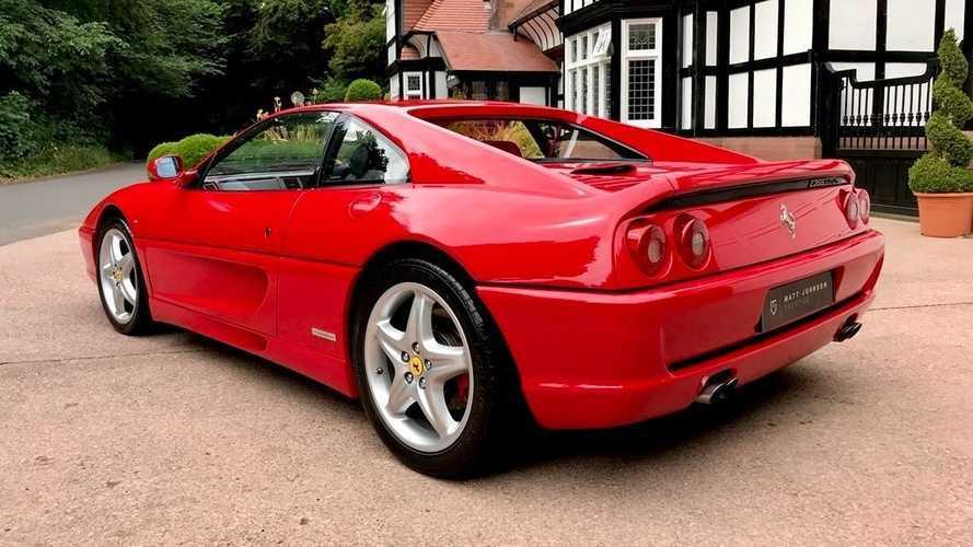 Eski bir F1 pilotunun Ferrari'si satışta