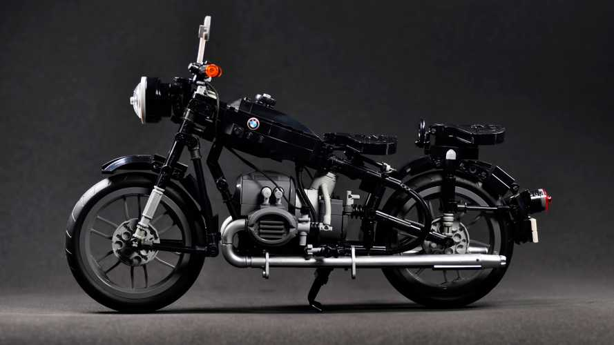 BOOOO! Lego Passes On Selling Amazing BMW Motorcycle Set
