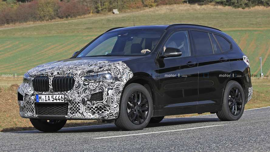 Spied: BMW X1 getting ready for a minor makeover
