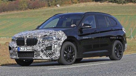 Flagra: BMW X1 reestilizado chega no começo de 2019