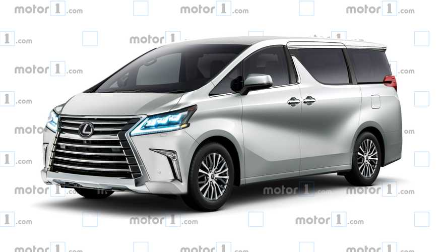 Lexus Luxury Minivan Could Really Happen Next Month