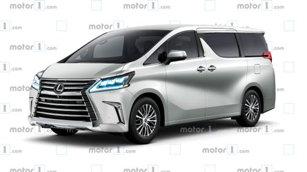 Lexus Minivan Rendered To Imagine Carrying The Family In Style