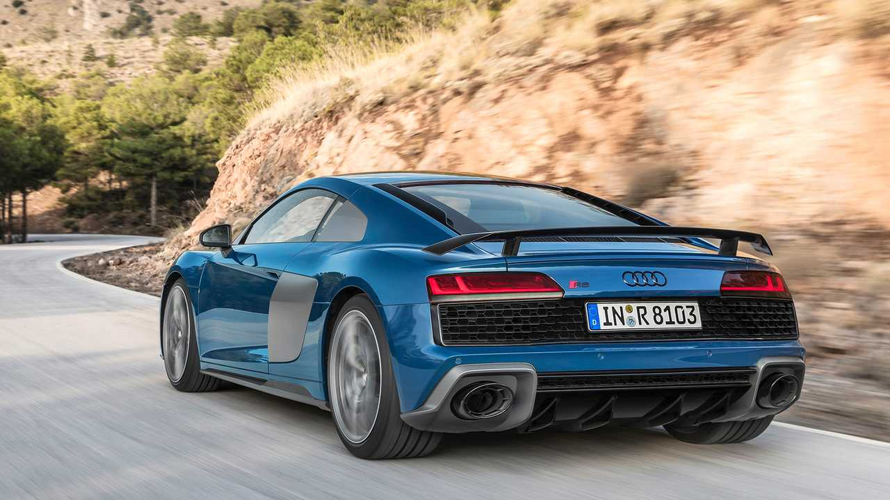 Audi R8 restyling 2019